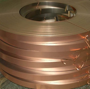 """002 0.002 copper Shim Stock .002 Thick 0.5/"""" Width 3/"""" long one 3/"""" long piece"""